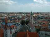 View of Munich from Peterskirche